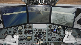 Полет натренажере