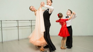 Бальные танцы, растяжка