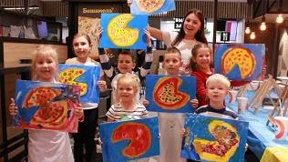 Детская арт-вечеринка