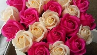 Композиции измыльных роз