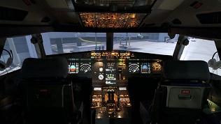 Полет наавиатренажере