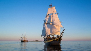 Посещение морского музея