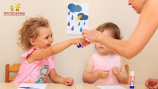 Посещение детского сада