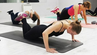 Занятия фитнесом