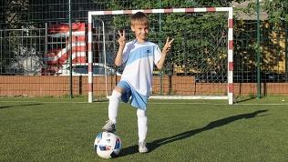 Занятия футболом