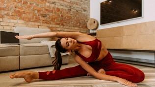Онлайн-занятия по йоге