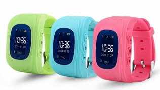 Детские GPS-часы-телефон