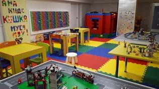 Посещение Lego-комнаты