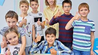 Занятия в школе «Софтиум»