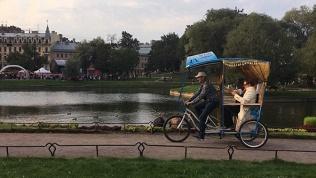 Экскурсия на велорикше