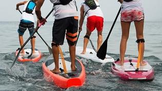 Обучение SUP-серфингу