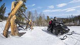 Снегоходный тур вКарелию
