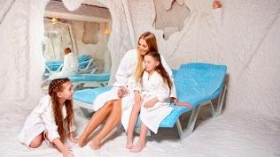 Посещение соляной комнаты