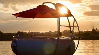 Аренда лодки для барбекю