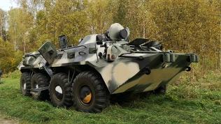 Заезды наБТР-80