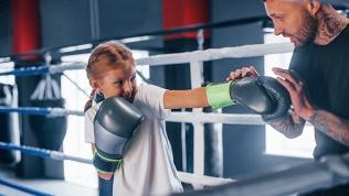 Занятия по боксу