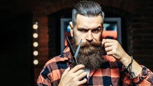 Мужская стрижка, бритье