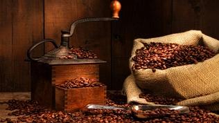Кофе взернах