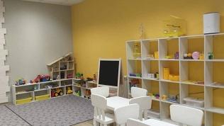 Посещение детской студии