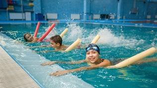 Занятия поплаванию