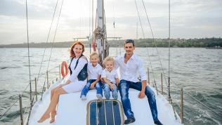 Отдых на парусной яхте