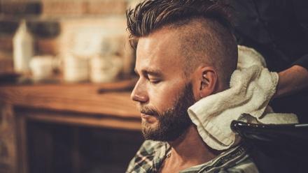 Мужская или детская стрижка вбарбершопе Russian Barbers фото