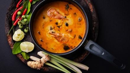 Блюда инапитки вресторане Baan Thai заполцены