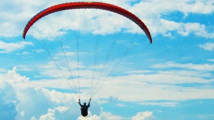 Полет напараплане отклуба «Мечта летать» фото