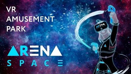 Игра вHTC Vive всети парков развлечений Arena Space фото