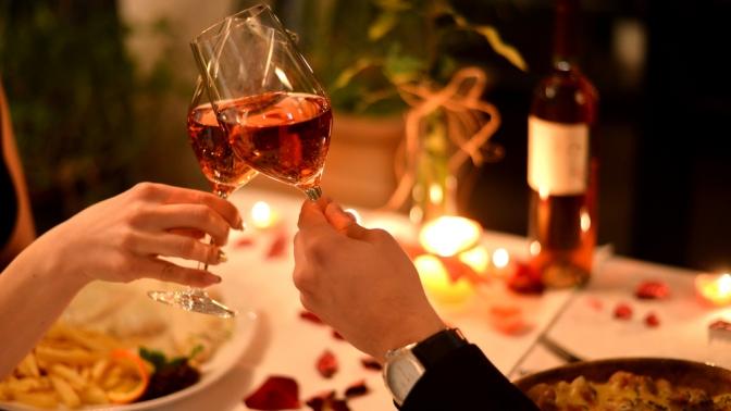 Романтический ужин вресторане «Седьмое небо» (1470руб. вместо 3000руб.)