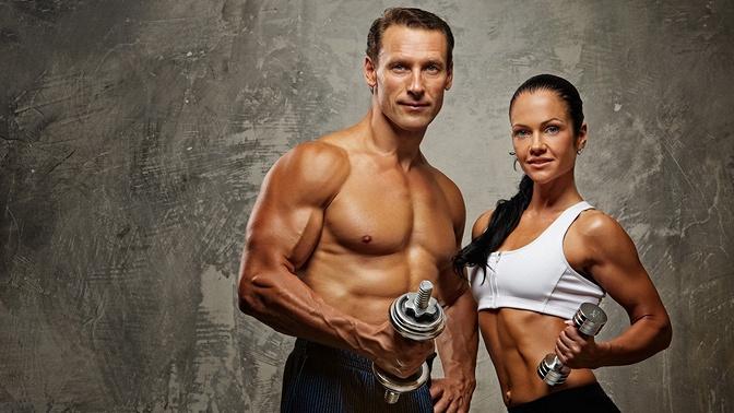 До36силовых тренировок Full Body или Split вклубе «Атмосфера»