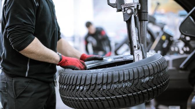 Шиномонтаж ибалансировка колес радиусом отR13 доR19в сети автотехцентров Olimp Autoservice