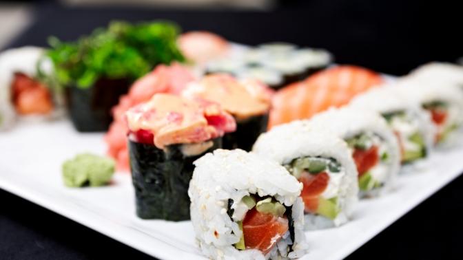 Всё меню всети магазинов идоставки японской кухни «Тоси Боси» соскидкой50%