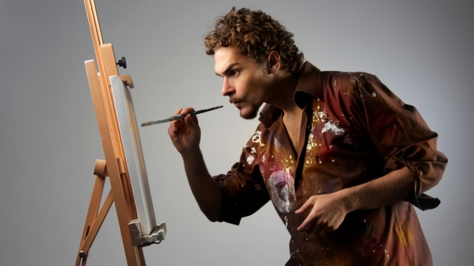 Мастер-класс «Эбру наводе», «Рисуем пастелью», «Рисуем маслом. Интенсив. Правополушарное рисование» или «Технологии состаривания при написании картины» либо тренинг «Рисуем маслом за1день» отстудии живописи «Валенсия»