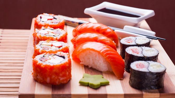 Меню отслужбы доставки суши-бара «Темпура»