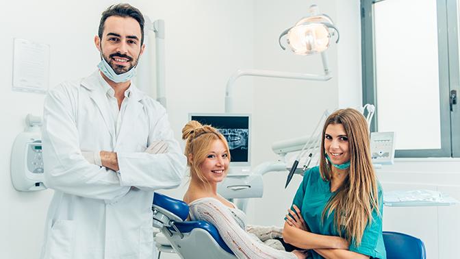 1или 2года стоматологического обслуживания встоматологической клинике «Магия»