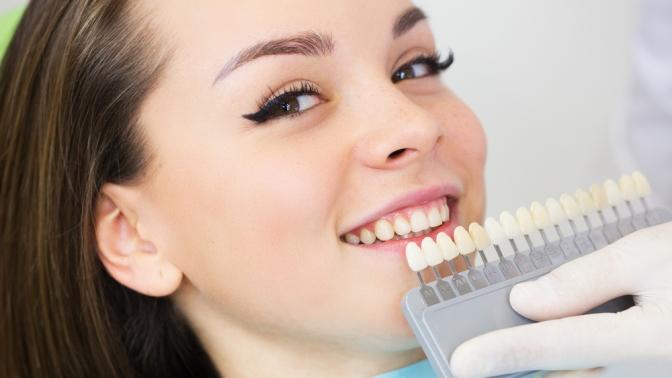 Отбеливание зубов встудии Adelina Studio