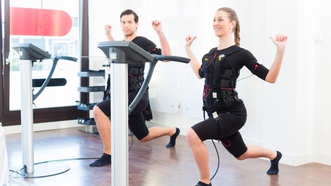 До12EMS-тренировок под руководством тренера, сеансы лимфодренажного массажа ифитобочки встудии FixBody