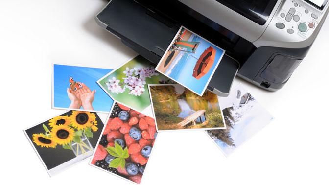 Печать до200 фотографий или брошюровка до150 листов откомпании «Офис-сервис»