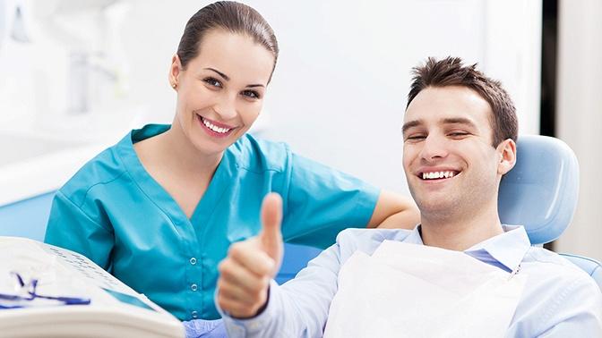 Лечение кариеса сустановкой пломбы либо ультразвуковая чистка зубов судалением зубного камня встоматологической клинике «С.О.Ч.И.»