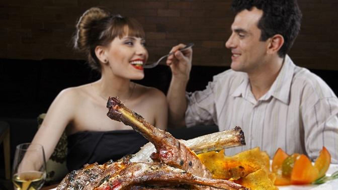 Сет сшашлыком, люля-кебабом, гриль-овощами откафе «Ной» соскидкой50%