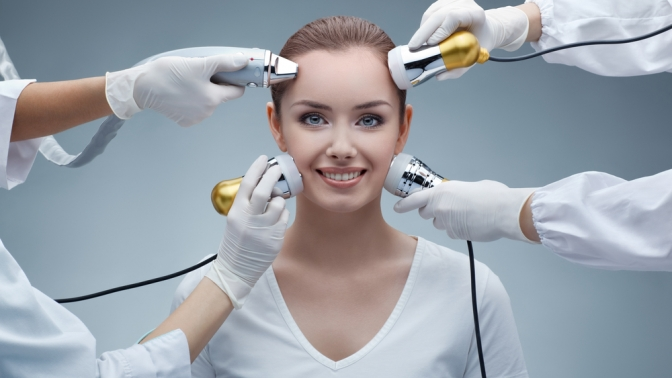 Семиэтапная ультразвуковая чистка лица изоны декольте, механическая или комплексная чистка лица всалоне красоты «Мастерская красоты»