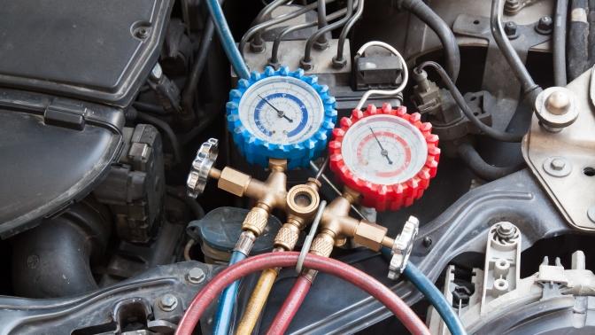 Заправка автомобильного кондиционера вавтотехцентре «Afto-сервис» (900руб. вместо 1800руб.)