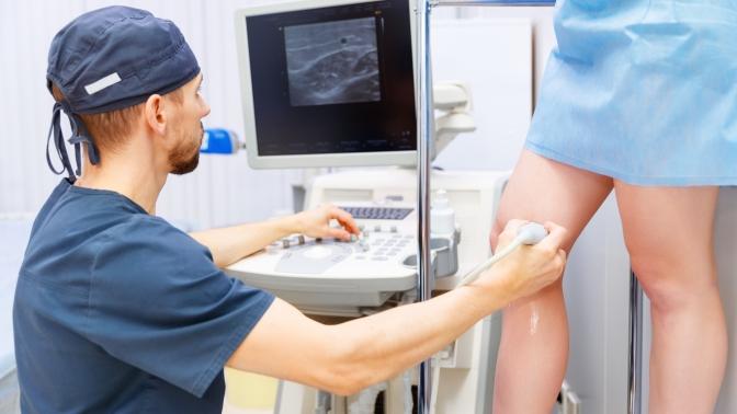 Обследование ухирурга-флеболога сдуплексным сканированием вен нижних конечностей исертификатом нарадиочастотную облитерацию, склеротерапию илечение варикоза или без вмногопрофильном медицинском центре «ОСМ»
