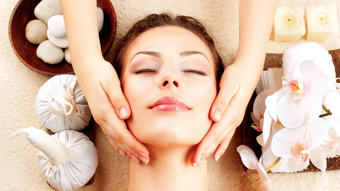 RF-лифтинг или ручной массаж лица, шеи изоны декольте, улиткотерапия вкабинете косметического массажа «Силуэт»