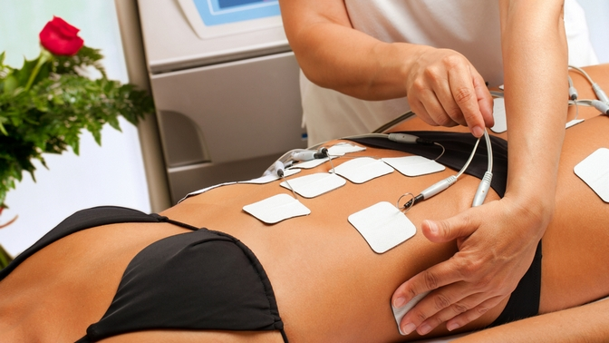 Сеансы миостимуляции или прессотерапии либо комплекс процедур для коррекции фигуры встудии красоты Krasotka