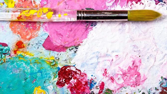 Посещение мастер-класса порисованию акрилом иакварелью или участие варт-вечеринке варт-мастерской Picasso