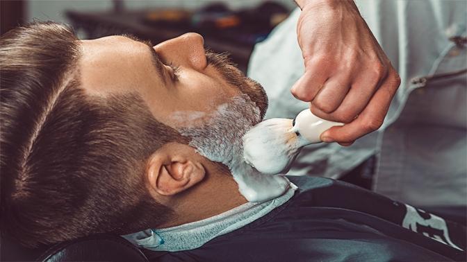 Мужская или детская стрижка, моделирование бороды вбарбершопе «Москва»
