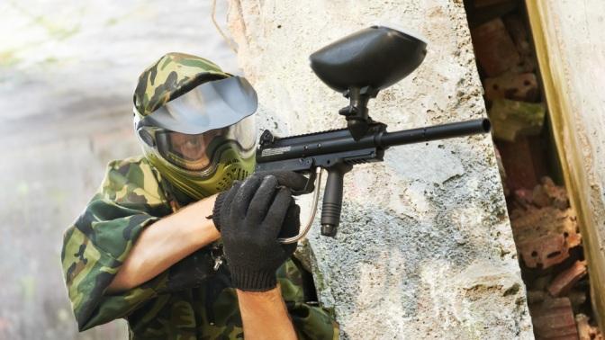День игры впейнтбол на4площадках спрокатом оборудования ипрохождением высотного аттракциона «Альпийский стрелок» отклуба «Гвардия» (1035руб. вместо 2250руб.)