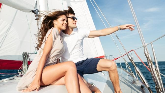 Прогулка поВолге напарусной яхте отпристани «Золотой остров»